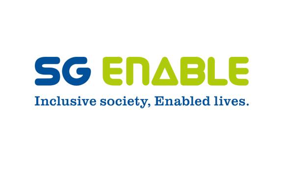 SG Enable logo with tagline Inclusive Society, Enabled Lives