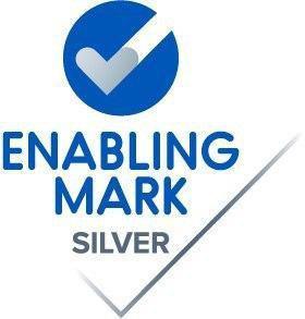 Silver Enabling Mark badge